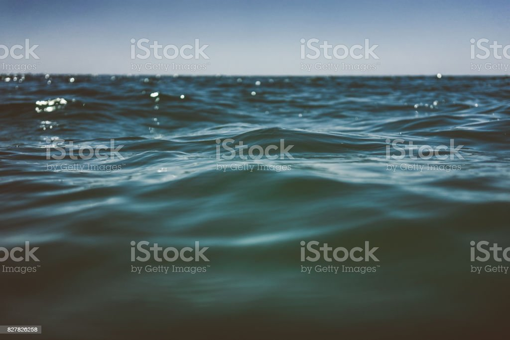 Water Surface Wave stock photo