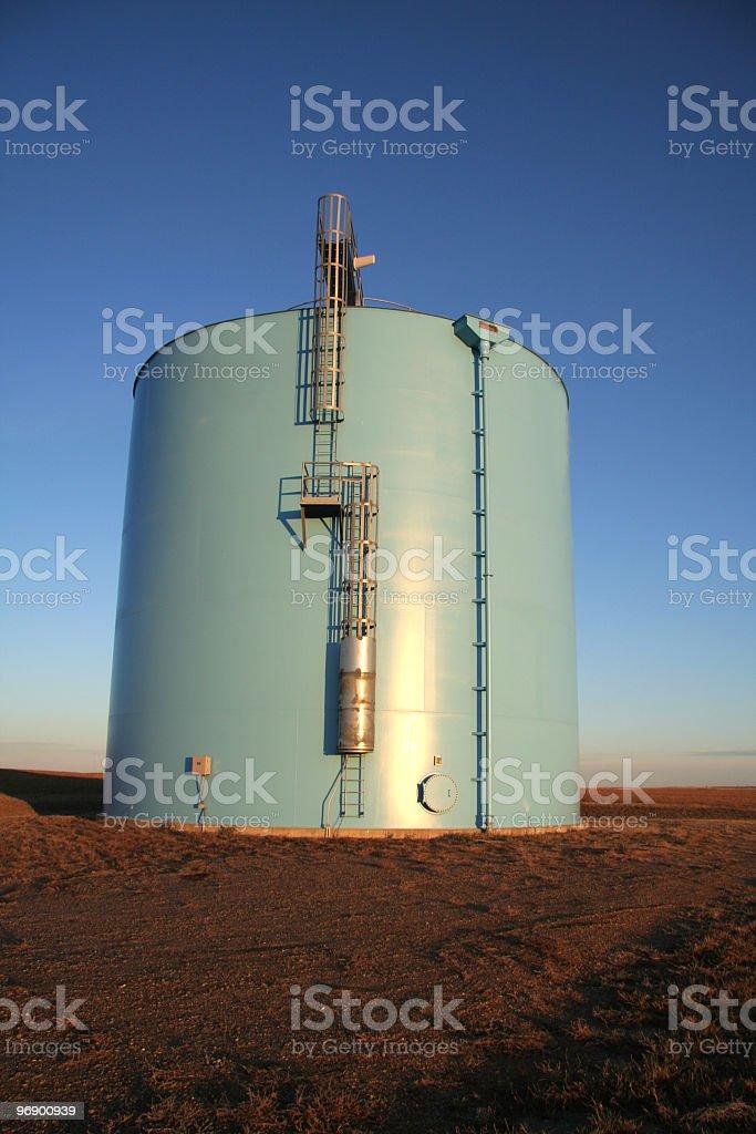 Water System Storage Tank royalty-free stock photo