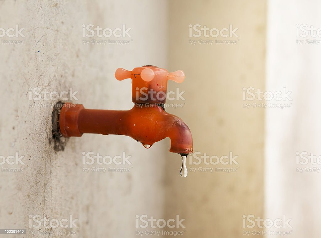 Water tap stock photo