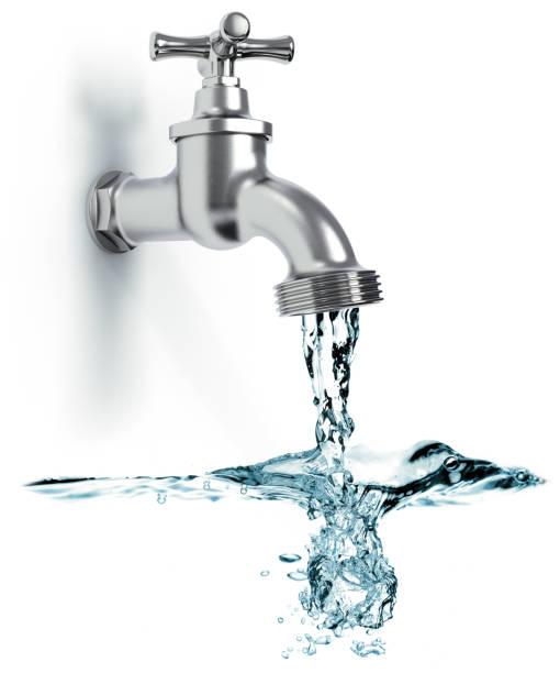 musluk suyu - tap water stok fotoğraflar ve resimler