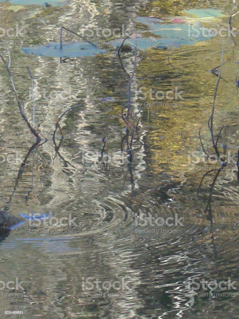 Water Tapestry stock photo