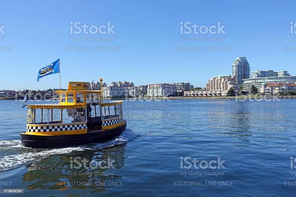 water taxi stock photo
