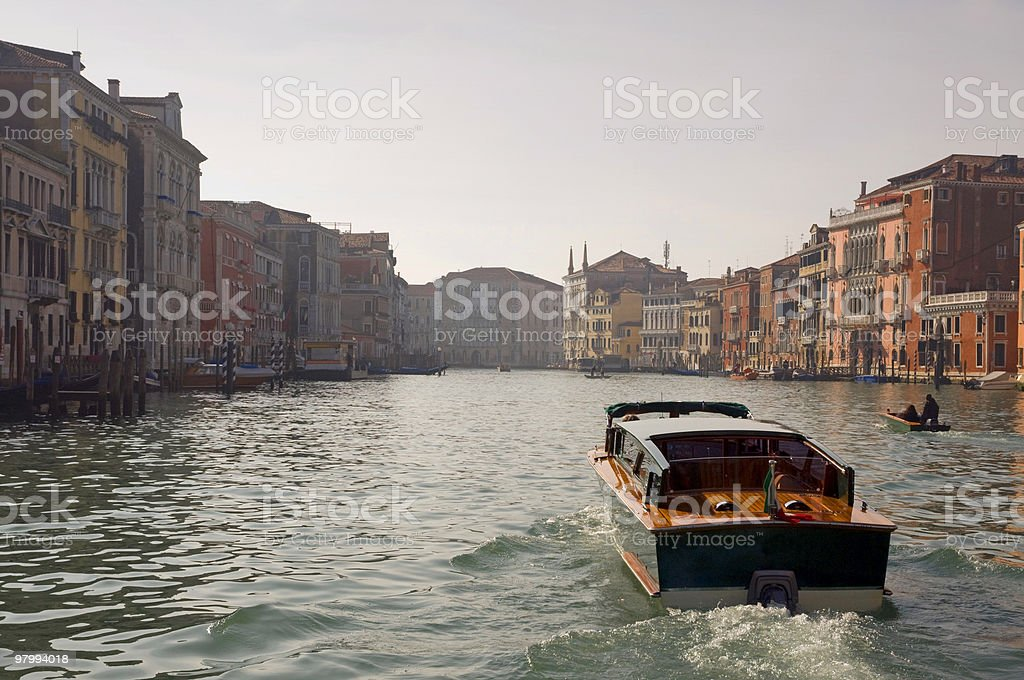 water taxi royalty-free stock photo