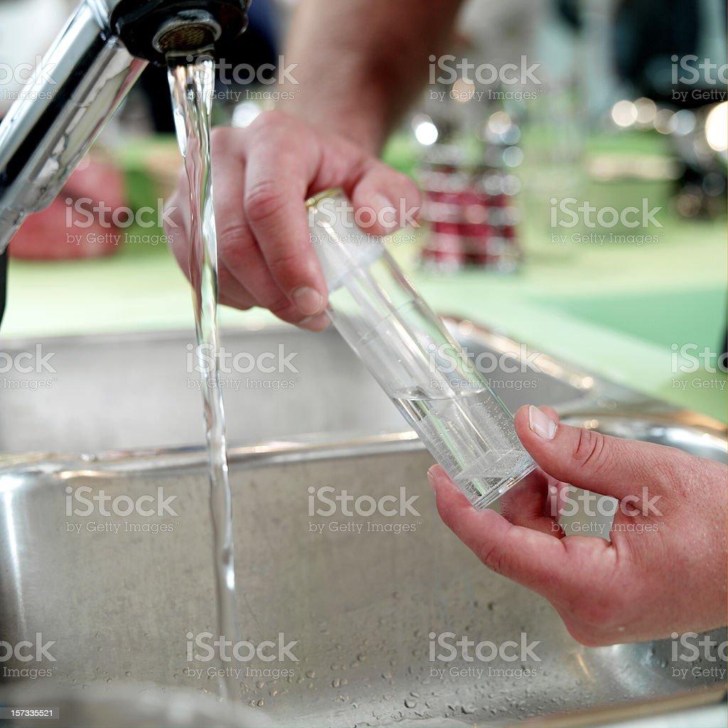 Water Testing stock photo