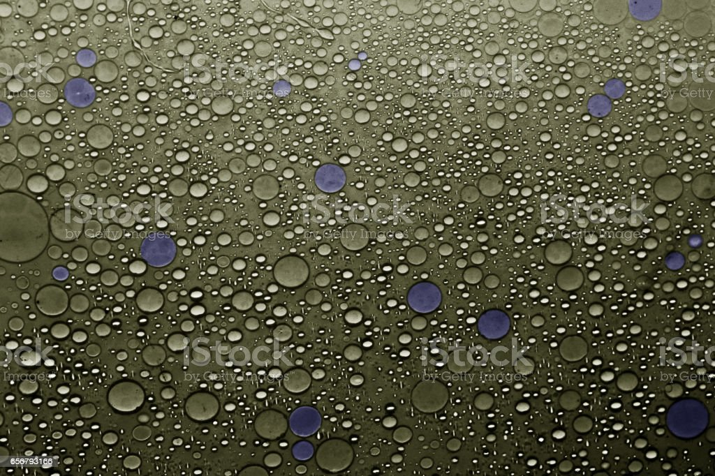 Abstract background in gold and blue
