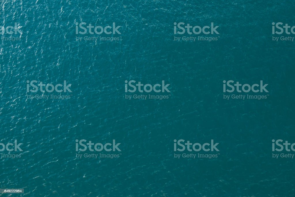 Water texture aerial image stock photo