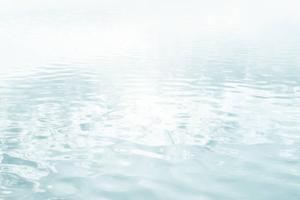 Water texture background. High key image. stock photo