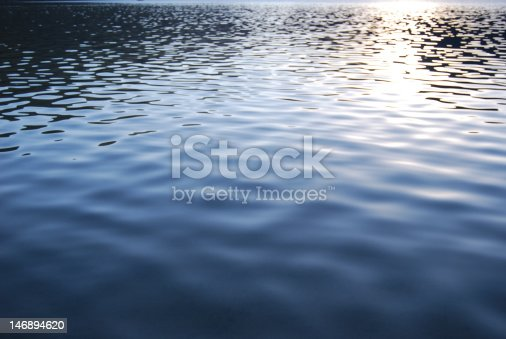 Small lake ripples and soft sunshine reflections. Useful for backgrounds.