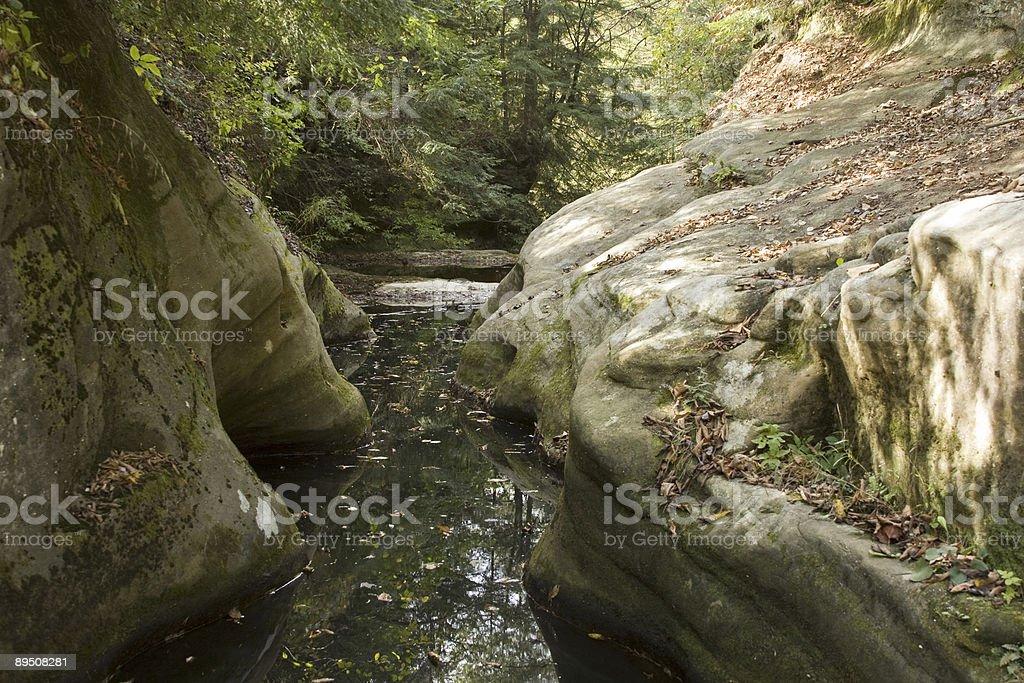 Water thruway royalty-free stock photo