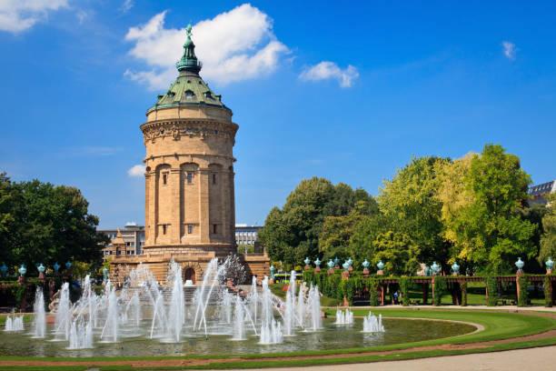 Water Tower - Mannheim stock photo