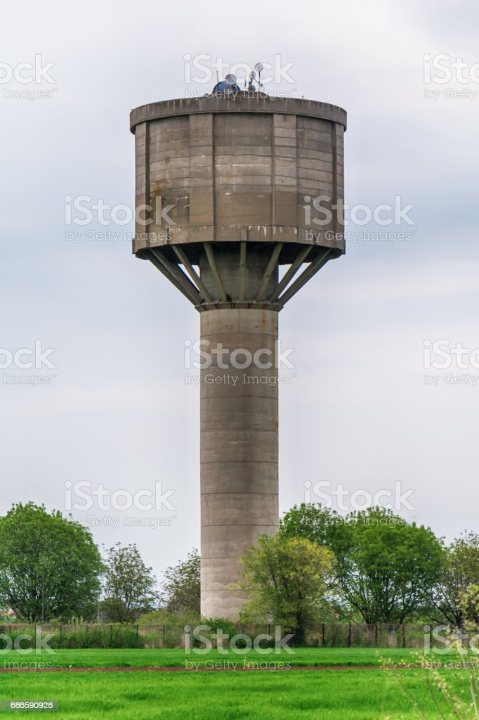 Water tower royalty-free stock photo