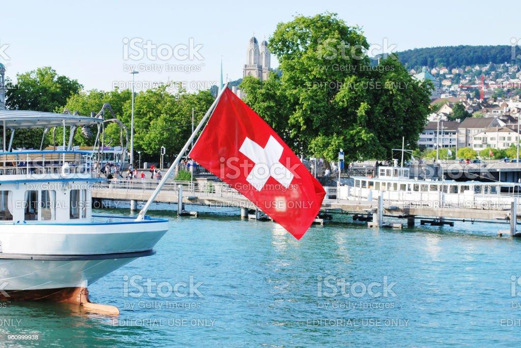 Water Transportation, Zurich, Switzerland stock photo