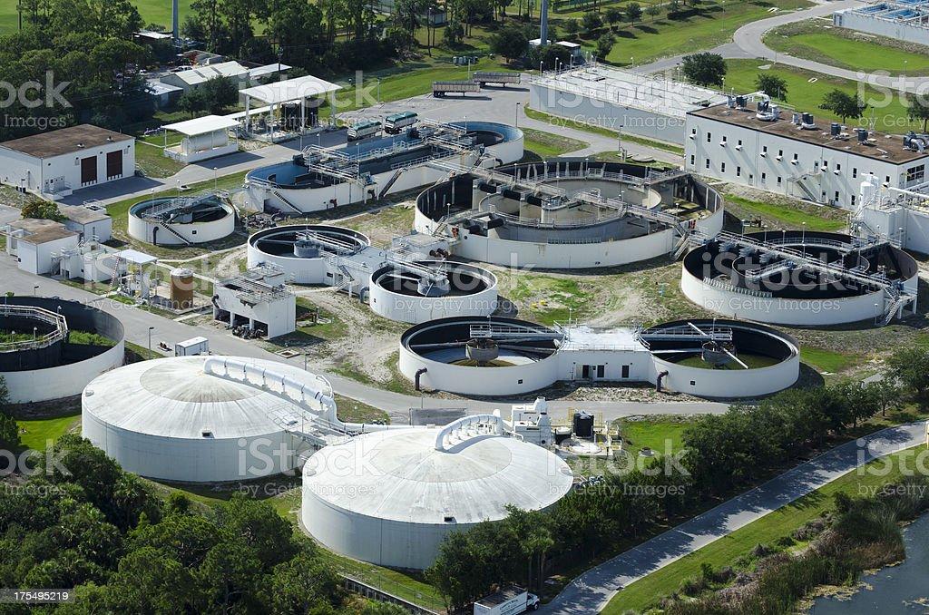 Water Treatment Facility stock photo