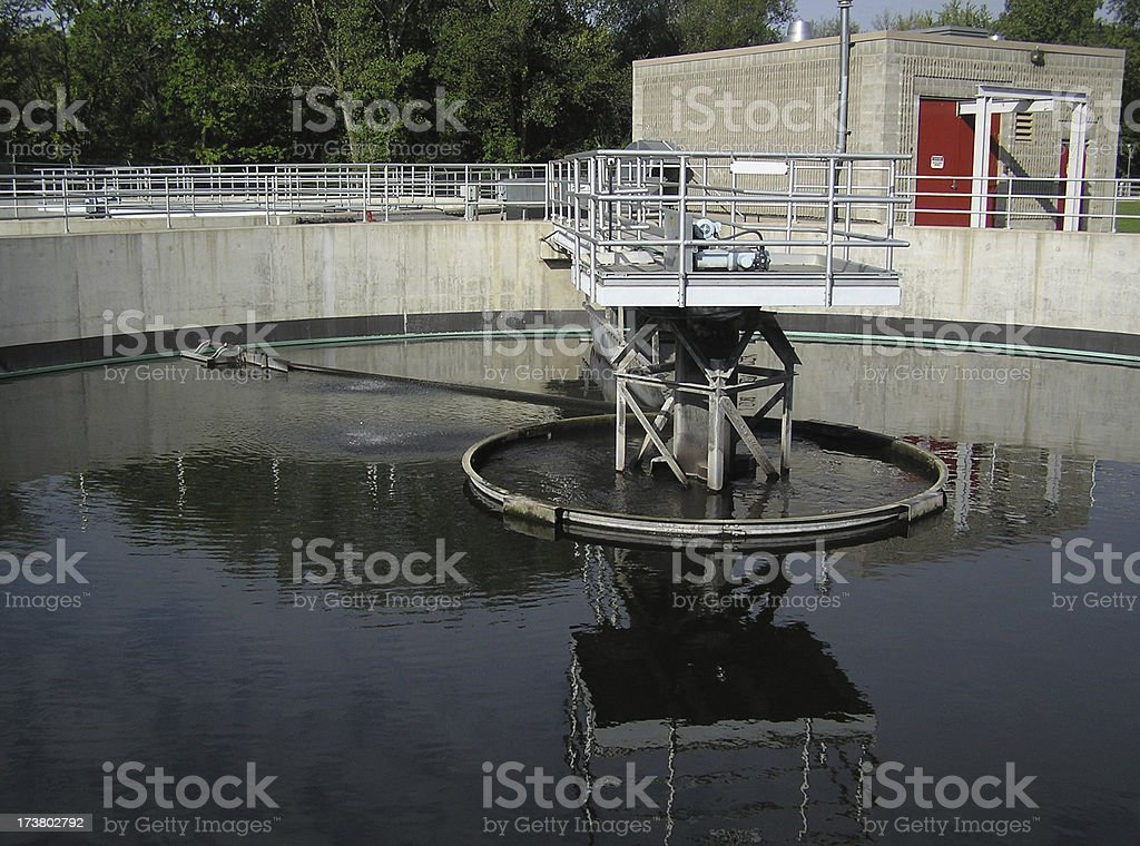Water Treatment royalty-free stock photo