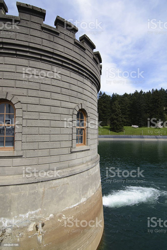 Water treatment plant royalty-free stock photo