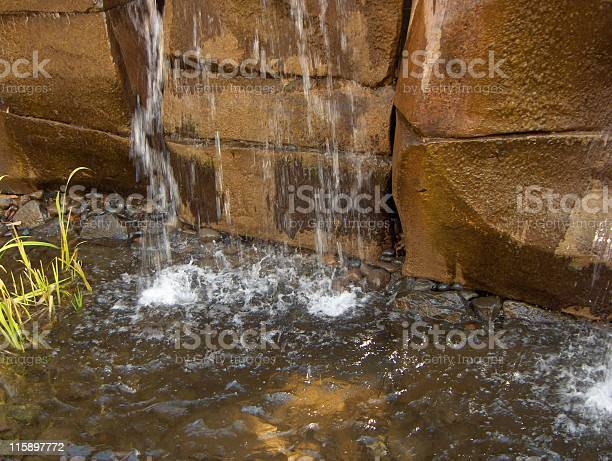 Photo of Water Trickling into a Pond