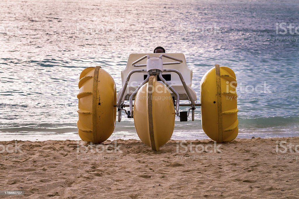 Water Tricycle, Oahu, Hawaii royalty-free stock photo