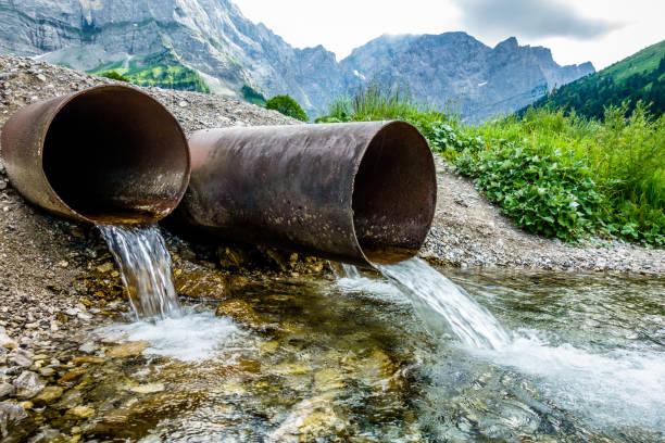 Wasser-Röhren – Foto