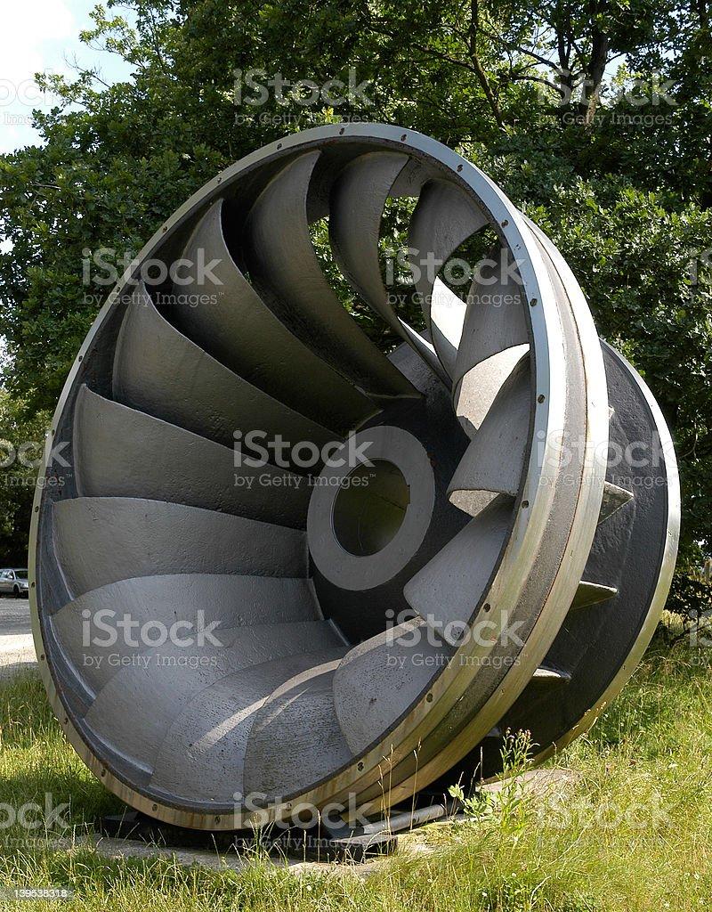 water turbine II stock photo