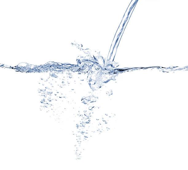 Water turbulence stock photo