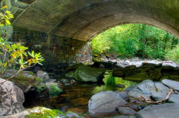 Water onder de brug foto