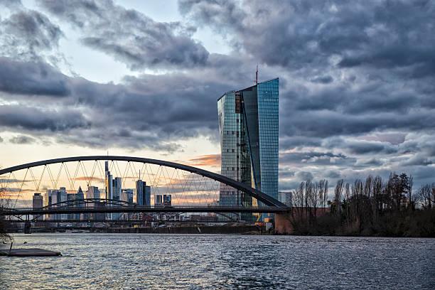 EZB, EZB, die Europäische Zentralbank, Frankfurt – Foto