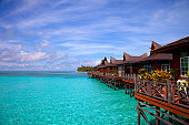 """Mabul island is the """"base camp"""" for the most of the divers on Sipadan island, one of the top world's diving place. Mabul is also know as one of the best muck diving site."""