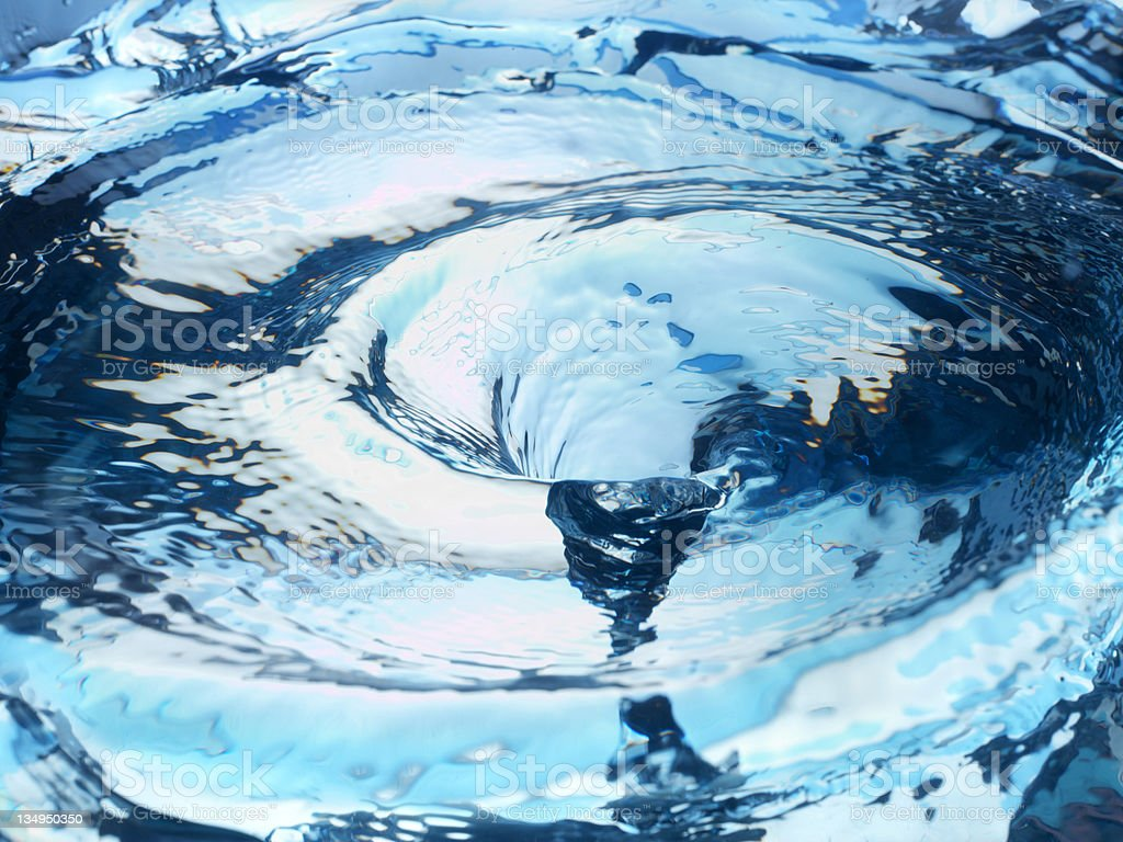 water vortex royalty-free stock photo