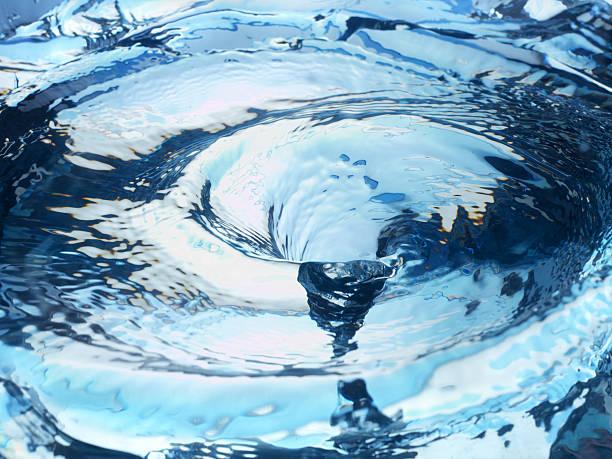 水の渦 ストックフォト