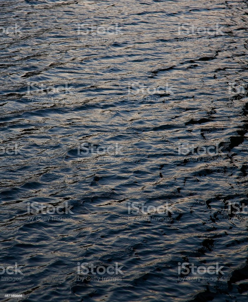 water wave dark grey surface background stock photo