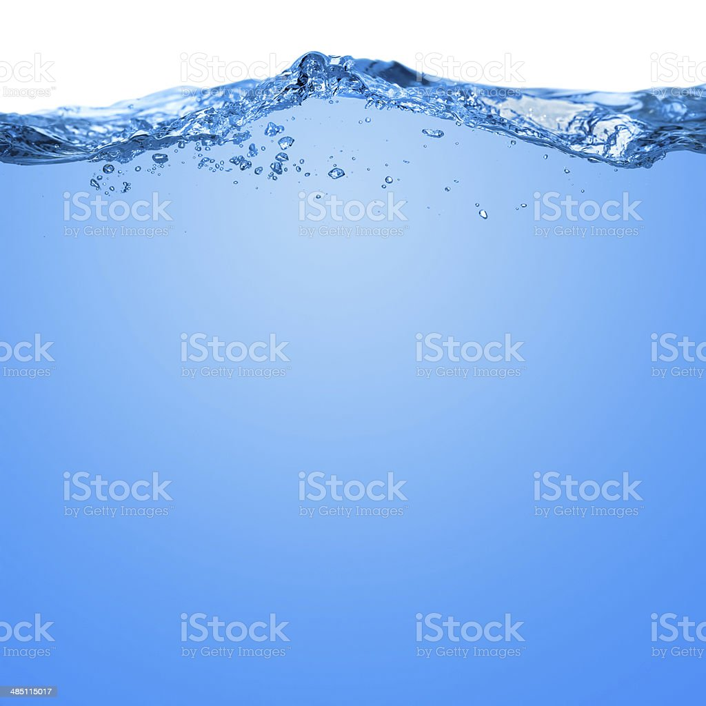 Water wave stock photo