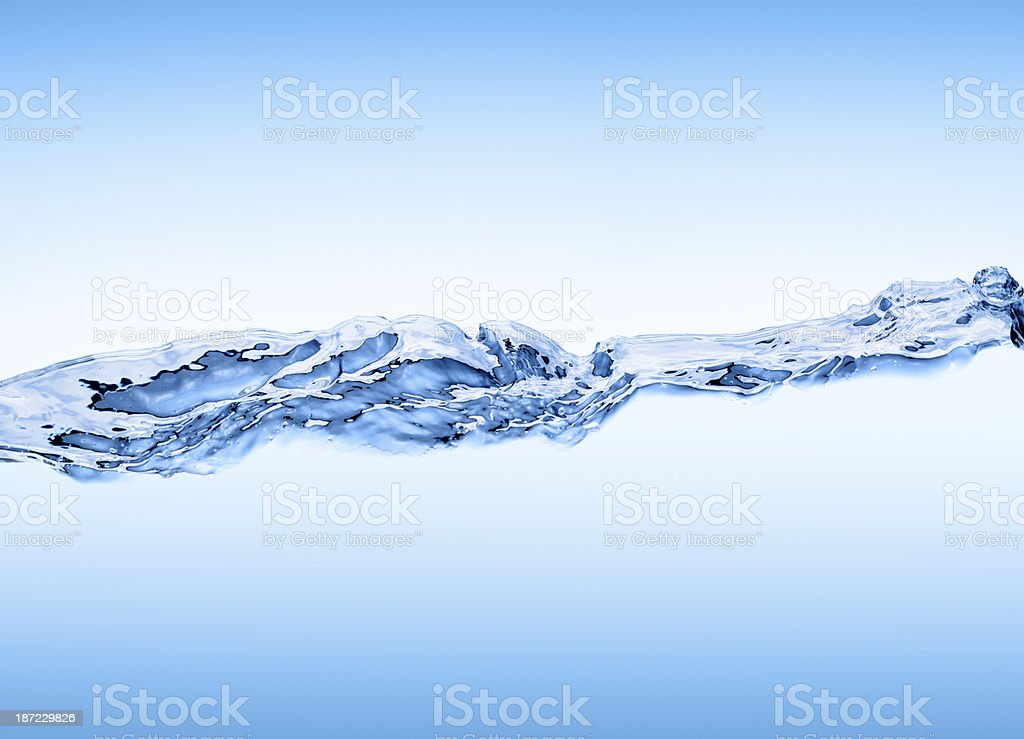 Water Wave XXL royalty-free stock photo