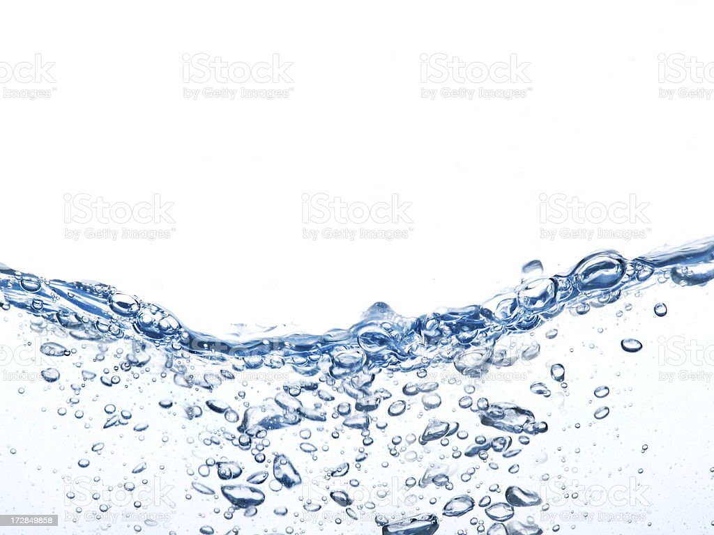Water waves royalty-free stock photo
