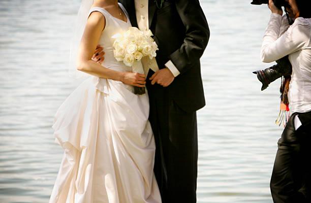 hochzeit-portraits - wedding photography and videography stock-fotos und bilder