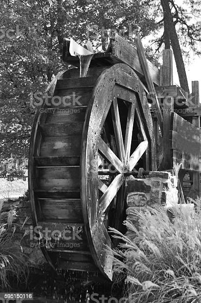 Water Wheel Stock Photo - Download Image Now