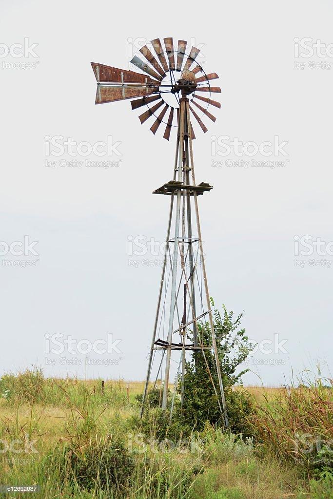 Water Windmill stock photo