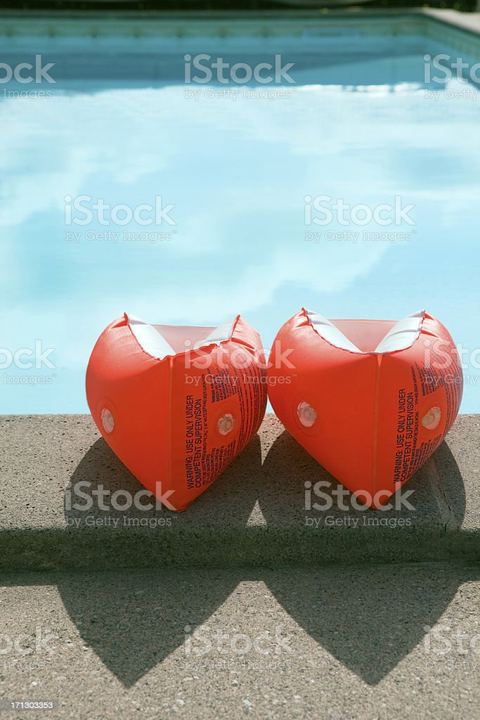 Water wings stock photo
