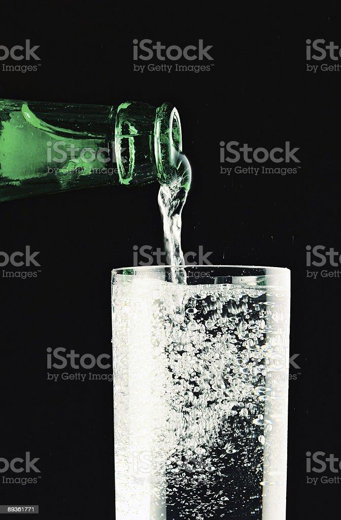 water with bubbles royaltyfri bildbanksbilder