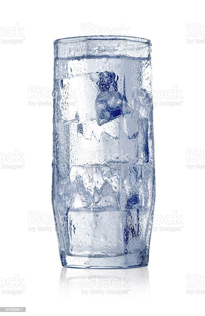 Water with ice royalty-free stock photo
