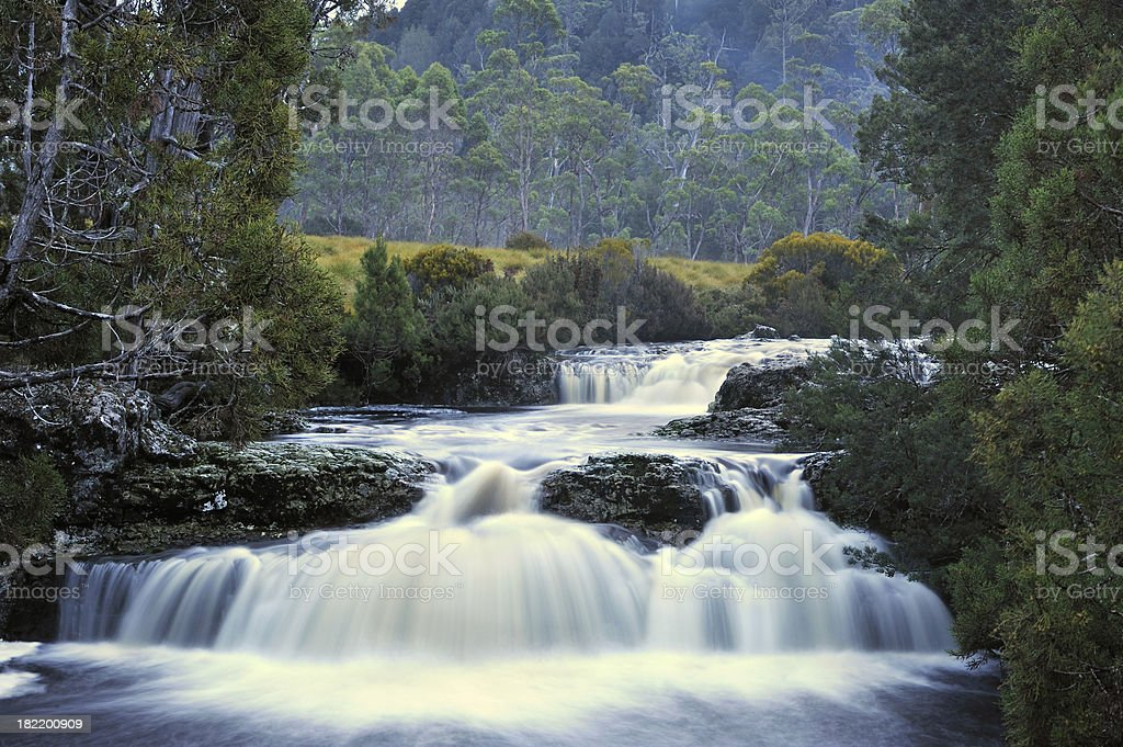 wateralls royalty-free stock photo
