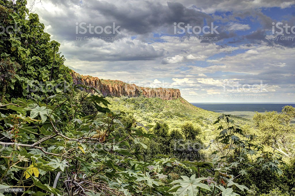 Waterberg Plateau view stock photo
