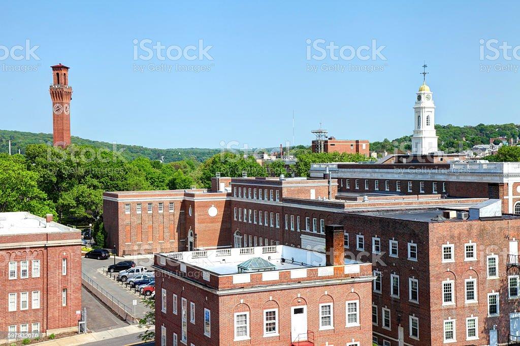 Waterbury Connecticut stock photo