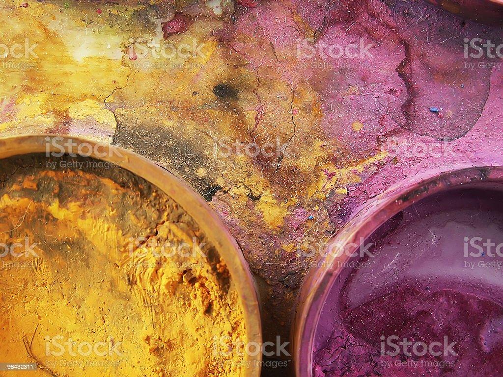 Acqua-Colore 1 foto stock royalty-free