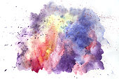 watercolor abstract background on papperwatercolor abstract background on papper
