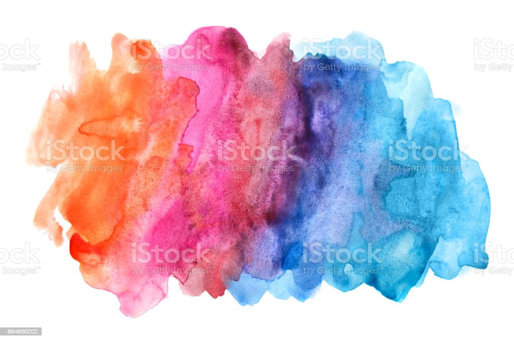 watercolor abstract background stock photo