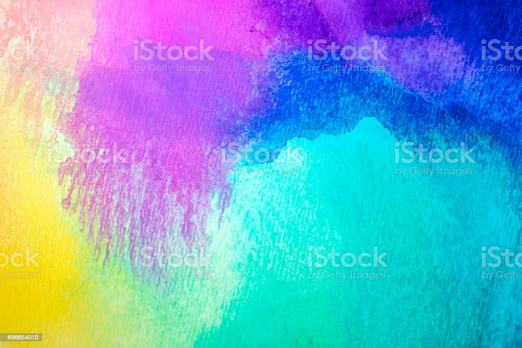 Watercolor Background and Design Elements stock photo