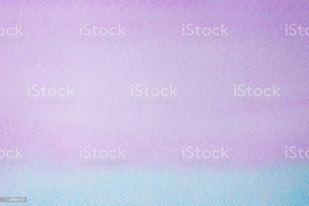 Fond Aquarelle, Peinture Aquarelle Violet Et Vert Abstraite Art Texturé  Conception Sur Fond De Papier