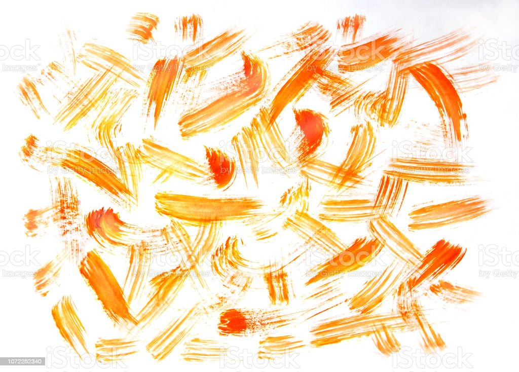 Watercolor background for design drawn by brush. Abstract watercolor...