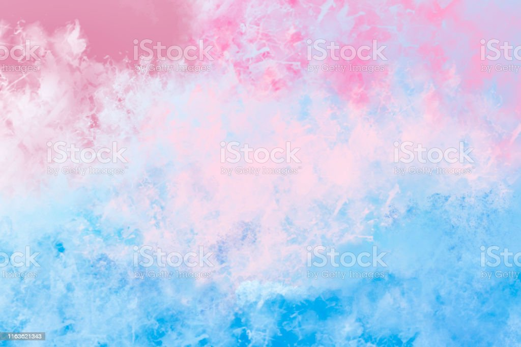 Watercolor Background Pastel Blue And Pink Vignette Stock Photo Download Image Now Istock