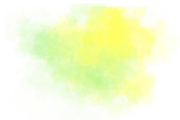 Watercolor Background - Pastel Colors Hand-Painted Background - Copy Space stock photo